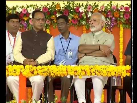 PM Modi Lays Foundation Stone of Greenfield Airport at Rajkot, Gujarat