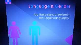 Are there signs of sexism in the English language?