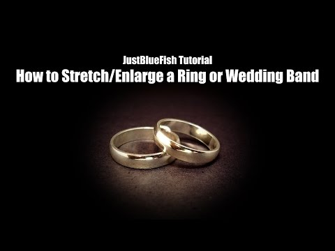How to Stretch or Enlarge a Ring Tutorial