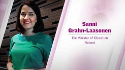 The Future Of Education - The Finnish Way | Sanni Grahn-Laasonen | HundrED Summit 2018