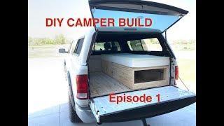 1.DIY Camper Shell Bed Build