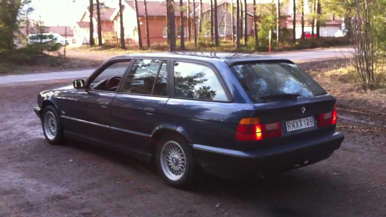 EvryMod BMW 525 TDS e34  YouTube
