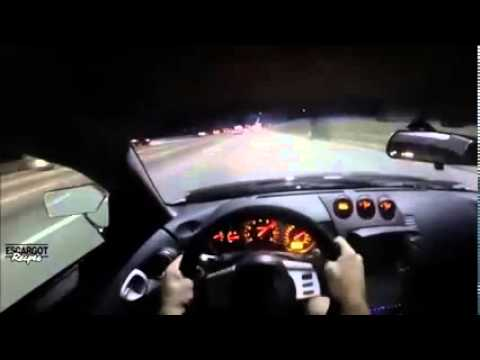 nissan 350z crazy driving in close traffic