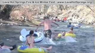 Lava Hot Springs Fire and Ice Winter Fest!