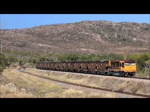 Australian Trains - Bowen, November 2015; Coal, Coke and Containers