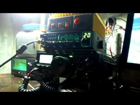 видео: Вечернее гуляющее прохождение 7.07.2013г. на Си-Би диапазоне.