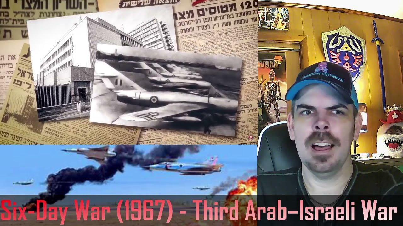 Six-Day War (1967) - Third Arab–Israeli War (Kings and Generals) REACTION