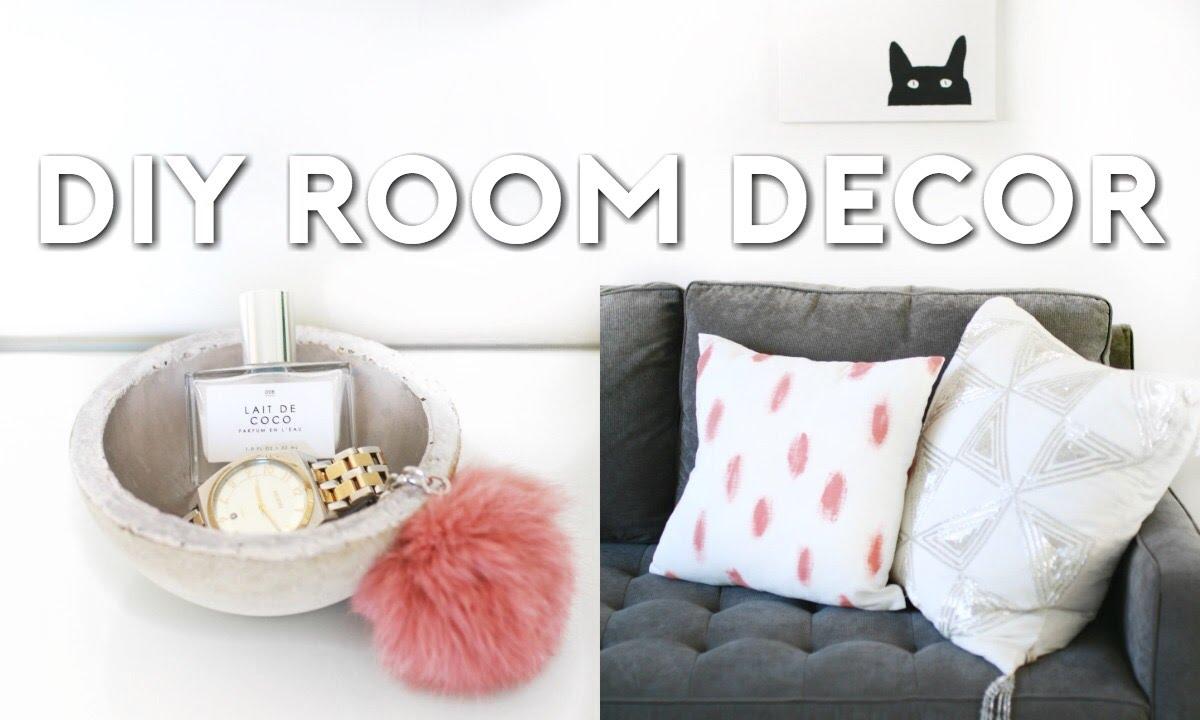 DIY Tumblr Room Decor   Minimal & Simple - YouTube