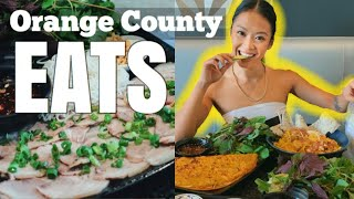 Everything I ate in Orange County (Food Vlog)