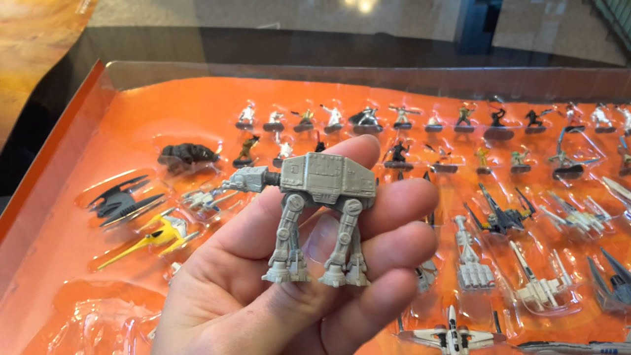 Star Wars Toys R Us : Star wars micromachine review toys r us exclusive youtube