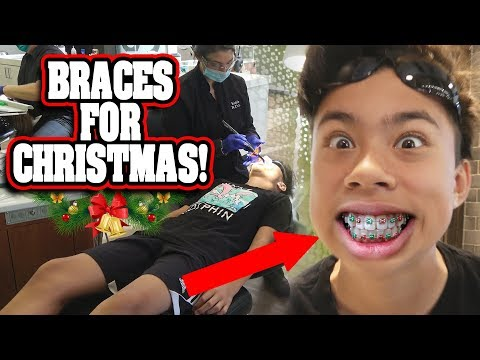 I GOT BRACES FOR CHRISTMAS!!! OWWWWW!