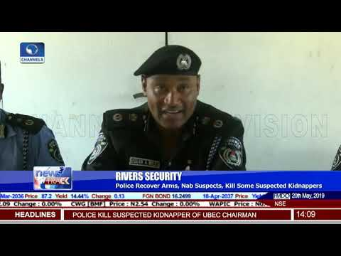 Rivers: Police Recover Arms, Nab Suspected Kidnappers