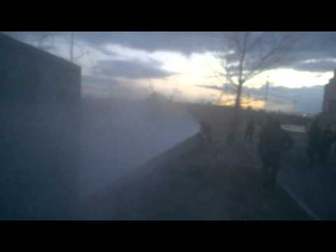 Стрілянина в Києві на будмайданчику на березі Дніпра, є поранені