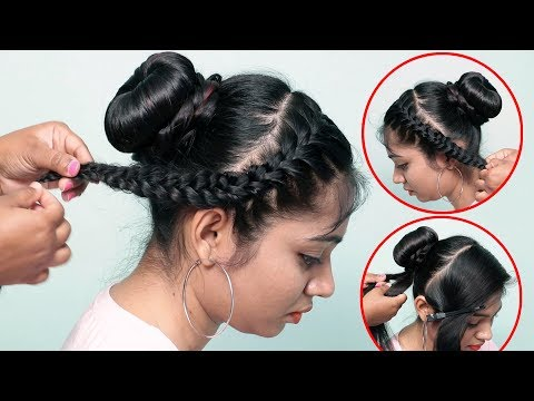 2 Easy And Simple Hairstyles For Girls    Cute Simple Easy Hairstyles    Easy Summer hairstyles