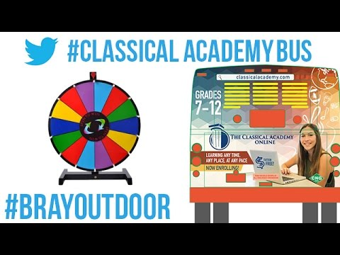 San Diego School Bus Advertising Campaign - POP Video for Classical Academy Charter