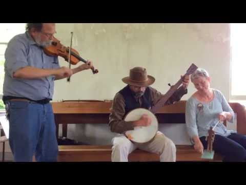 Briggs' Reel - Wes, Paul, ..& Clyde the limberjack. Dunker Church, Antietam 2014