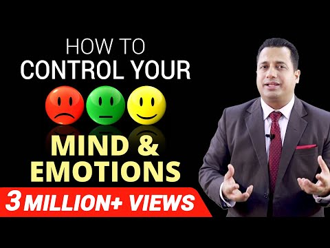 HOW TO CONTROL YOUR MIND & EMOTIONS | Motivational Video | Dr Vivek Bindra