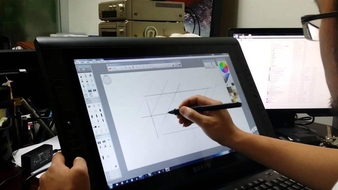 how to draw on pdf with surface pen