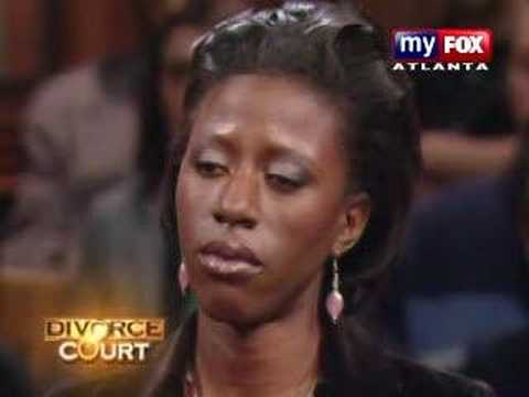 Juanita Bynum on Divorce court 6
