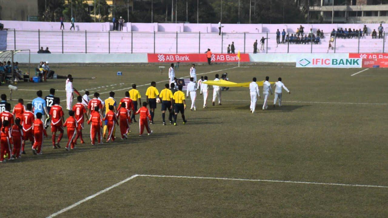 Nepal vs Malaysia Football match highlights Bangabondhu ...