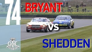 Chevy Camaro and Rover SD1's battle for glory at Goodwood
