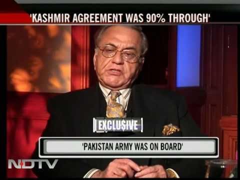 India, Pak agreed on self-governance for Kashmir: Kasuri