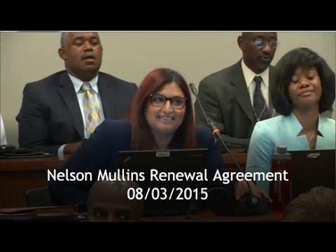 08/03/2015 - Nelson Mullins - DeKalb Schools Board
