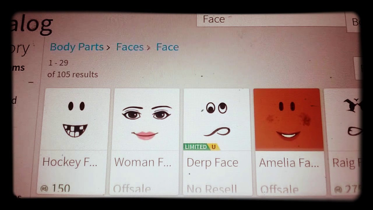 A Secret Face Not Made By Roblox Youtube