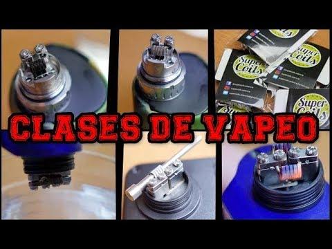 Como limpiar unas resistencias artesanales (DRY BURN) / Como poner unas resistencias / CLASES VAPEO