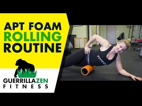 Anterior Pelvic Tilt Foam Rolling Routine