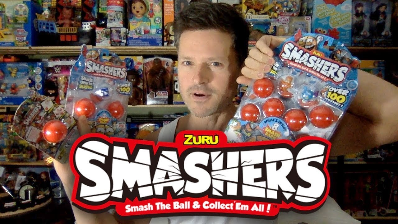 Zuru Smashers: Smash the Ball & Collect 'Em All Unboxing Review
