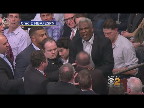Charles Oakley Banned From MSG For A Year