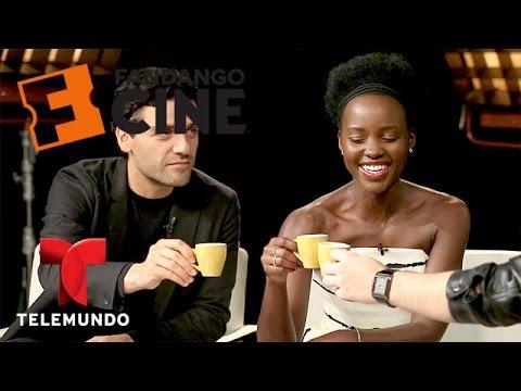 Cafecito con Oscar Isaac y Lupita Nyong'o | Fandango | Entretenimiento