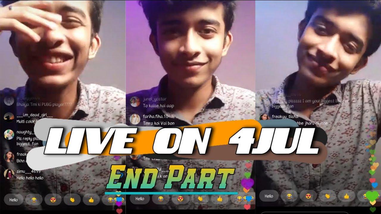 Final Part of Abid's live of 4 Jul #TeamAbid💫