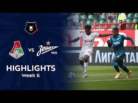 Lokomotiv Moscow Zenit Petersburg Goals And Highlights