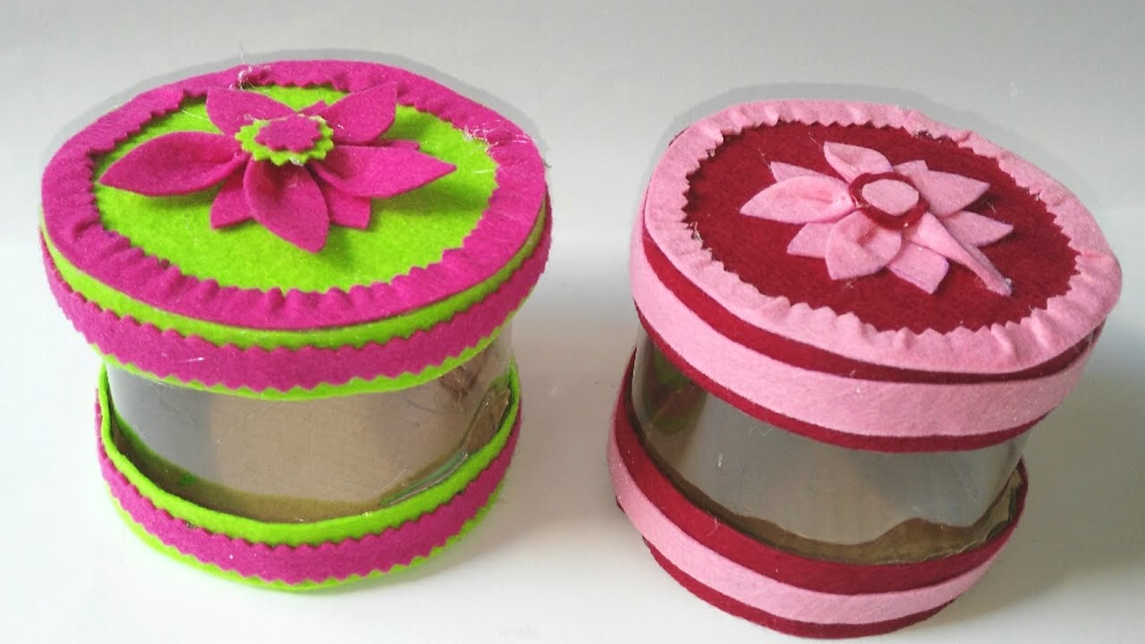 Caja con botellas de plastico diy reciclaje manolidades - Cajas de plastico ...