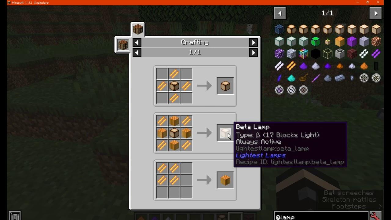 Lightest Lamps Mods Minecraft Curseforge