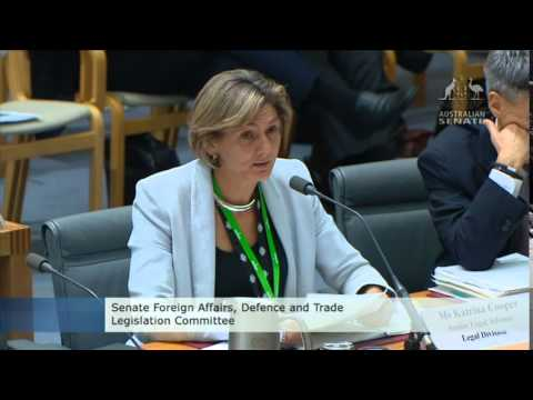 Senate Estimates - Foreign Affairs Defence & Trade: Rare earth minerals mine in North Korea