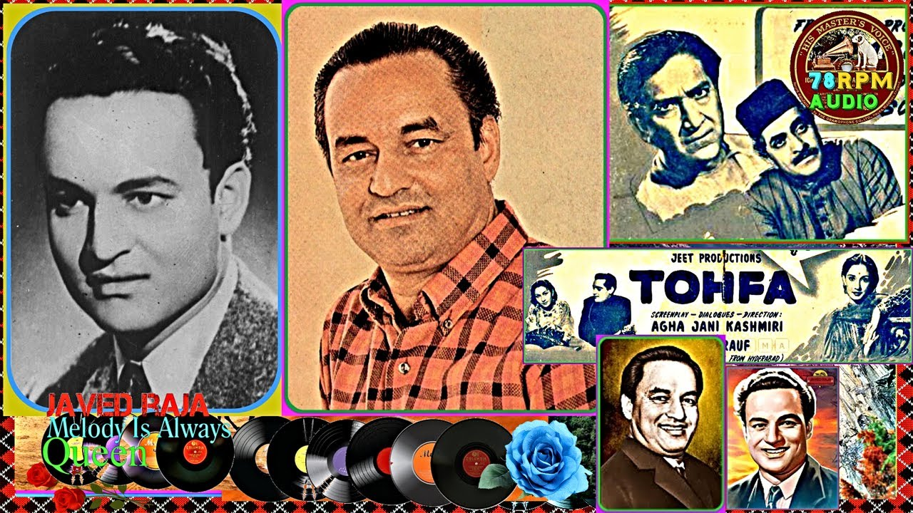 Download MUKESH~Film~TOHFA~{1947}~Kahan Tak Jafa Husn Walon Ki Sehte~[ Great Gem-78 RPM Audio ]
