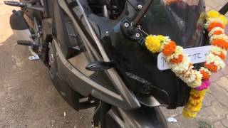 Pulsar RS 200 (ABS) 2017 | walk around | New color | BS-4 engine