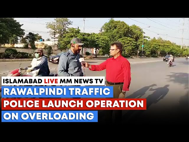 Rawalpindi Traffic Police Launch Operation