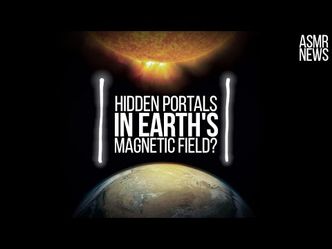 Space Science News ASMR   X-points: Hidden Portals In The Earth's Magnetic Field