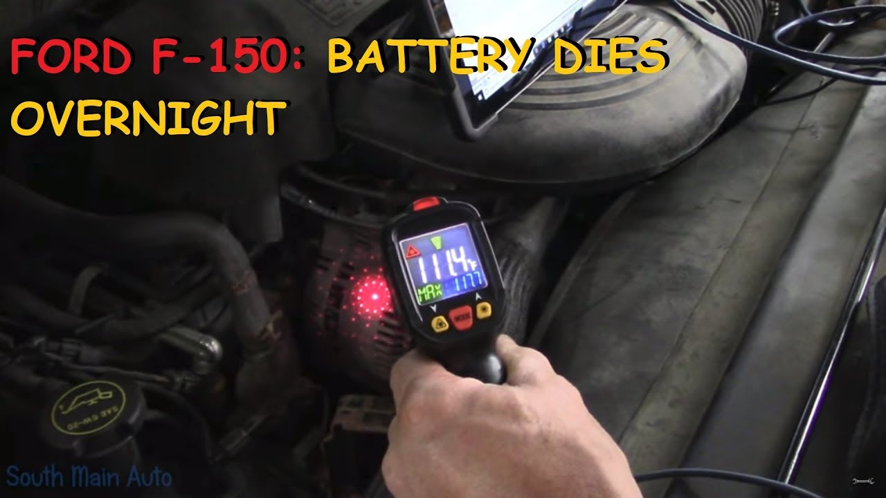 Ford F150 Battery Dies Overnight Youtube