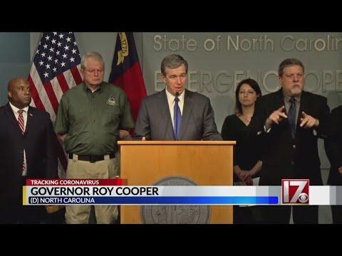 NC Gov. Cooper Talks About Having Enough Coronavirus Test Kits