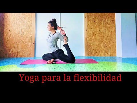 yoga para la flexibilidad  eka pada raja kapotasana  youtube