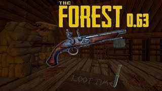The Forest V0.63b - Собираем пистолет #3