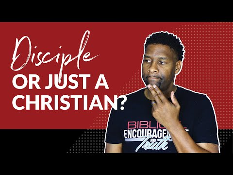 Are You a Disciple or Just a Christian? | 10-MINUTE SERMONS