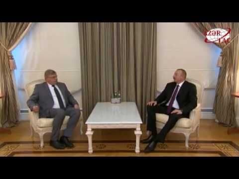 President Ilham Aliyev received head of election observation mission of European Conservatives