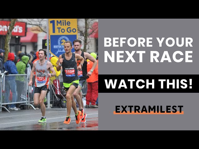 Before your next race, watch this!