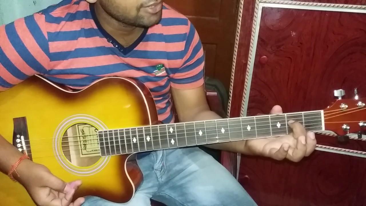 Raabta guitar tab tutorial --- arijit singh and nikita gandhi - YouTube